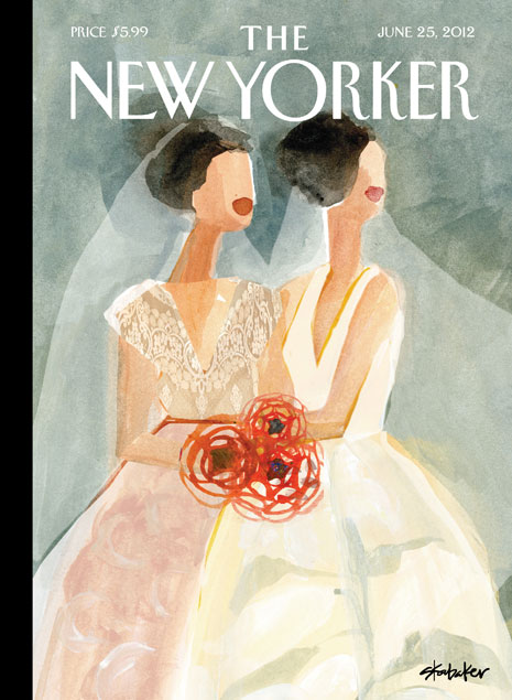 New Yorker Cover Gayle Kabaker