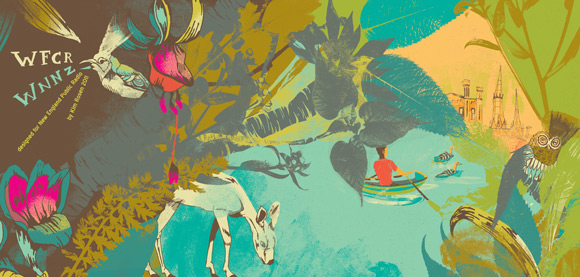 Kim Rosen art mug 2011