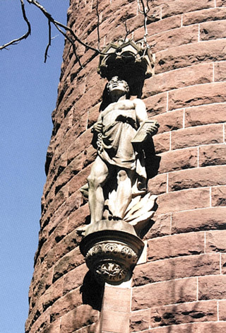 Soldiers and Sailors Memorial Arch -Detail